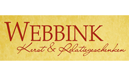 Logo Webbink Kerst en relatiegeschenken